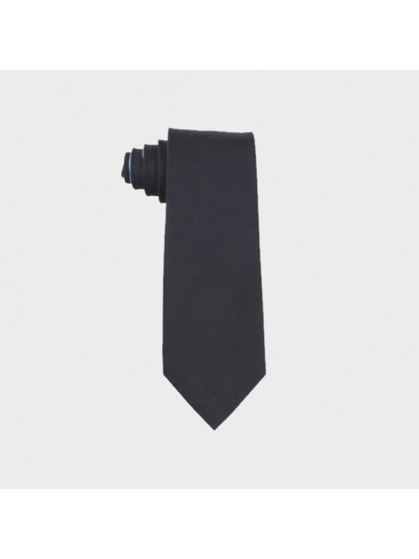 Kaklaraištis Tommy Hilfiger Men's Black Oxford Solid