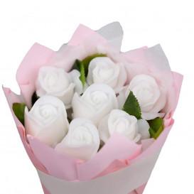 Dovana gėlės iš muilo