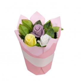 Dovana natūralios muilo gėlės