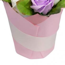Dovana muilo gėlių puokštė