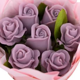 Gėlės iš muilo gera dovana