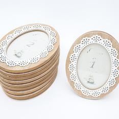 Medinis ovalus rėmelis (RM-9)