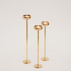 Blizgi aukso spalvos žvakidė (Ž-27)