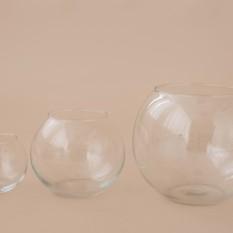 Trijų dydžių apvalios vazos (Vz-3)