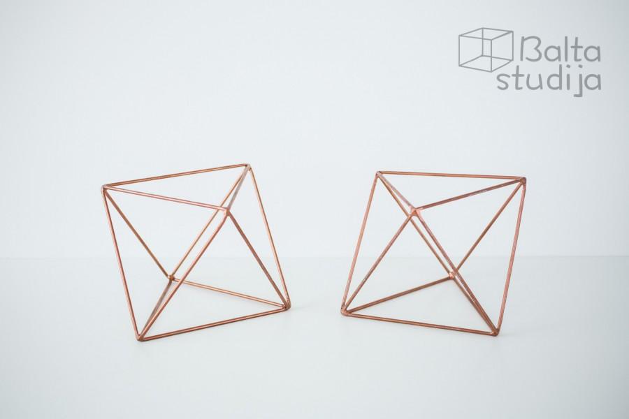 Vario spalvos Šešiakampė geometrinė figūra (D-20)