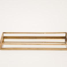 Veidrodėlis su aukso spalvos krašteliu (Vd-14)