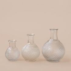 Raižyto stiklo grafinas (Vv-13)