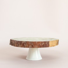 Medinis stovas su keramikine kojele (Di-39)