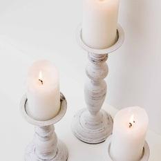 Sendintos Žvakidės (baltos) (Ž-1)