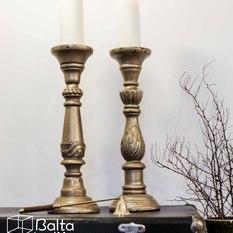 Klasikinė medinė žvakidė (Ž-9)