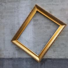 Didysis aukso spalvos rėmas (R-3)