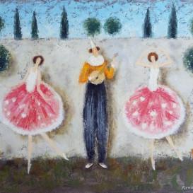 Klounas ir balerinos